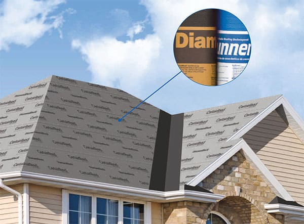 3 - Synthetic Water-Resistant Underlayment